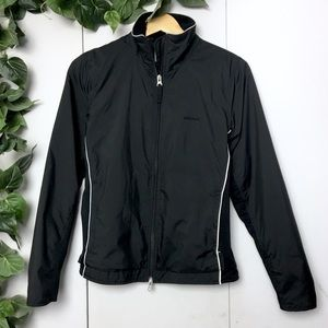 ROOTS Warm White Lined Black Spring Jacket